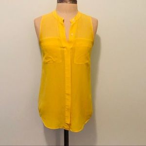 Yellow Sheer Blouse from Madewell